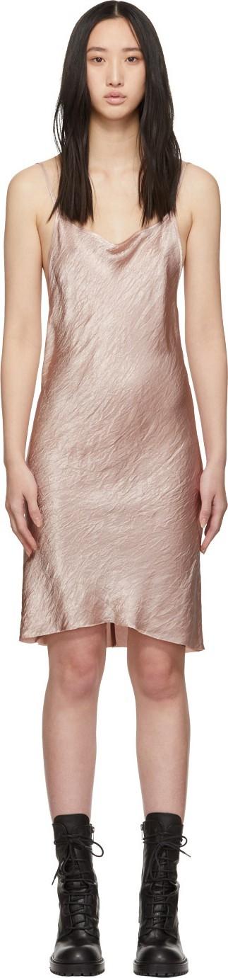 Ann Demeulemeester Pink Slip Dress