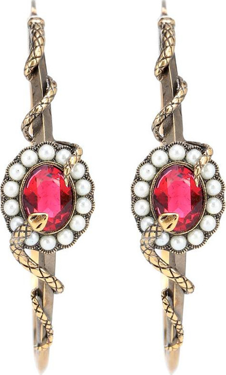 Alexander McQueen Crystal-embellished earrings
