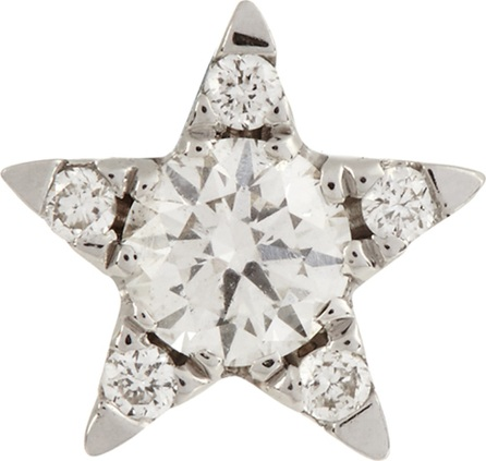 Maria Tash Diamond & white-gold earring
