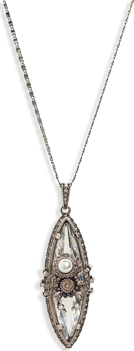 Alexander McQueen Long Spider Pendant Necklace