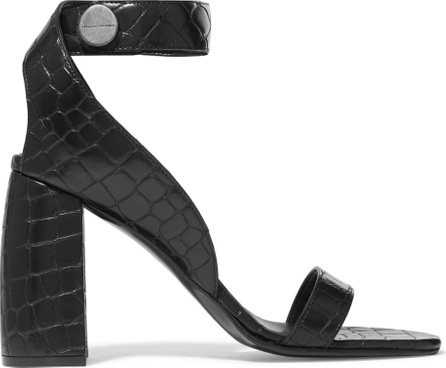 Stella McCartney Croc-effect faux leather sandals