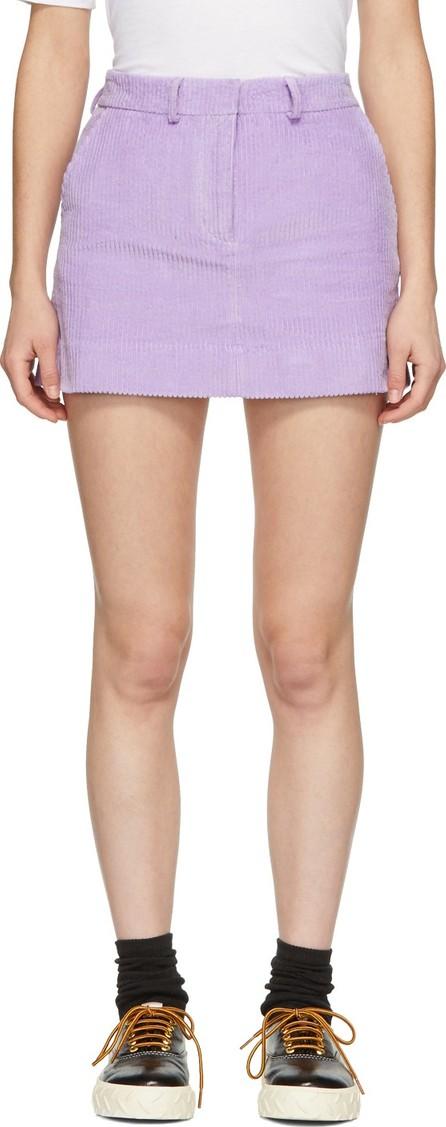 Ashley Williams Purple Executive Miniskirt