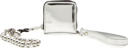 Alyx Morgan Leather Coin Purse with Wrist Strap and Chain