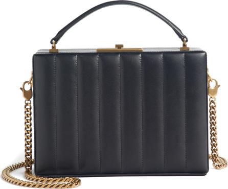 Saint Laurent Nan Quilted Leather Frame Bag