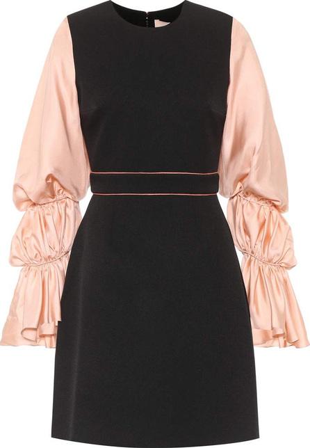 Roksanda Silk-blend blouson sleeve dress