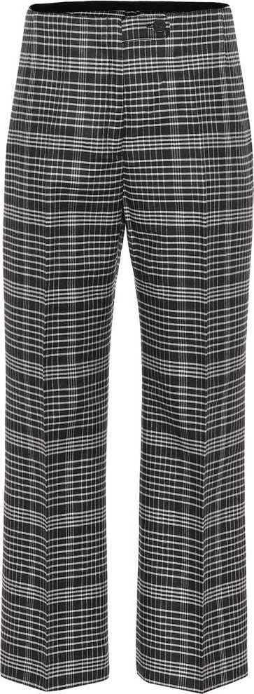 Acne Studios Checked wool-blend pants