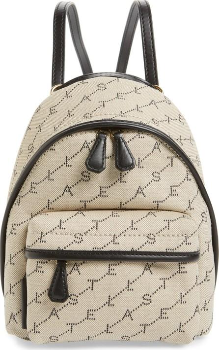 Stella McCartney Logo Canvas Mini Backpack
