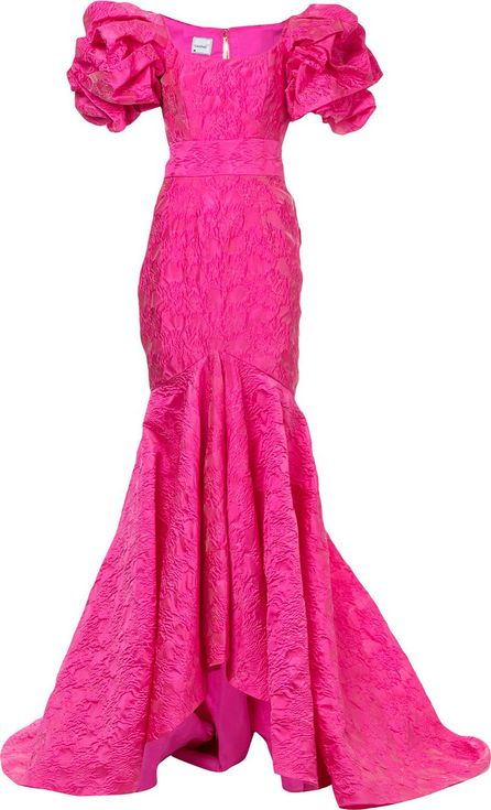 Bambah Mermaid ruffled gown
