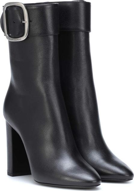 Saint Laurent Joplin 105 leather ankle boots