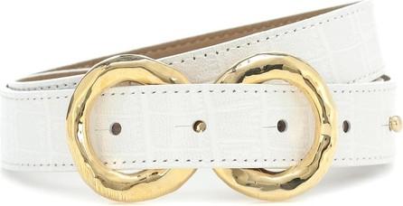 Rejina Pyo Exclusive to Mytheresa – Infinity croc-effect leather belt