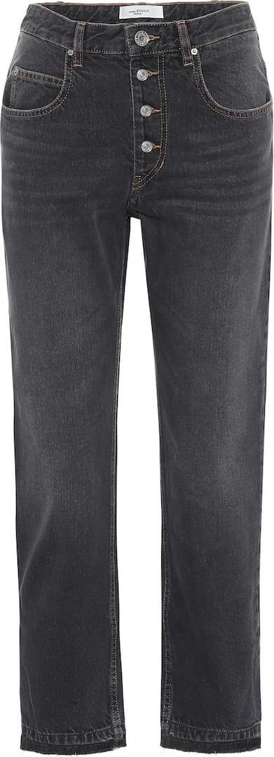 Isabel Marant Etoile Garance cropped straight jeans