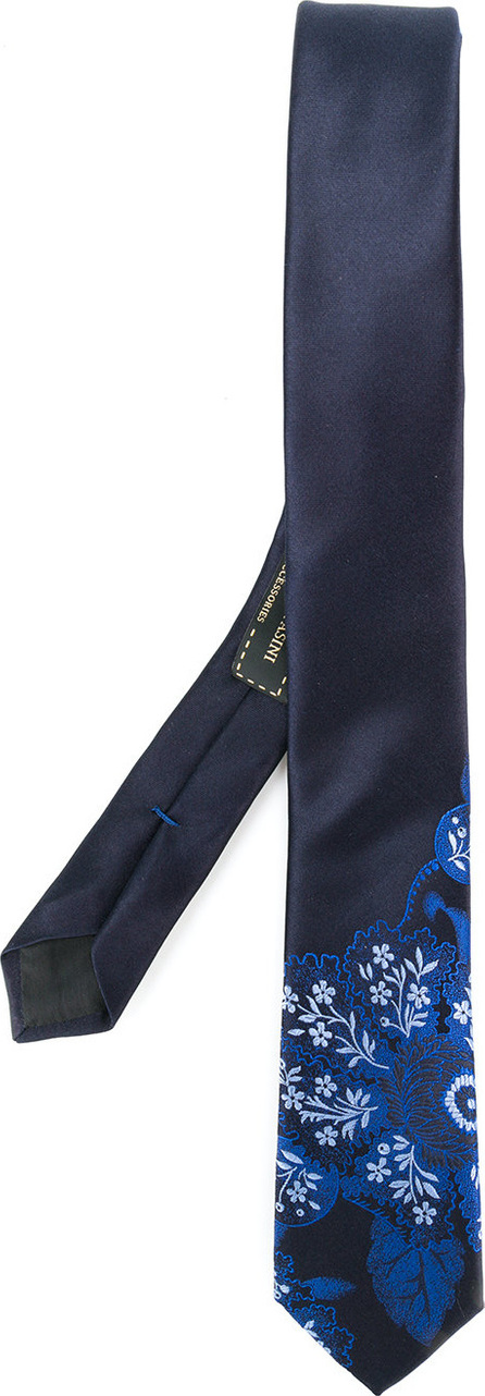Gabriele Pasini Embroidered floral tie