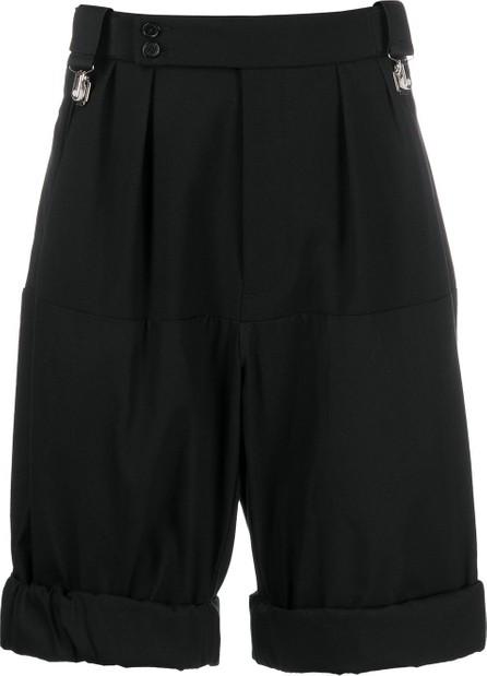Raf Simons Pleat detail tailored shorts