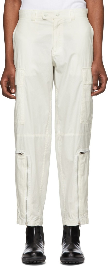 Helmut Lang Off-White Aviator Cargo Pants