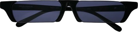 Linda Farrow Linda Farrow x Marcelo Burlon rectangular lens sunglasses