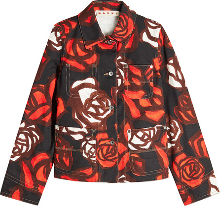 Marni Printed Denim Jacket