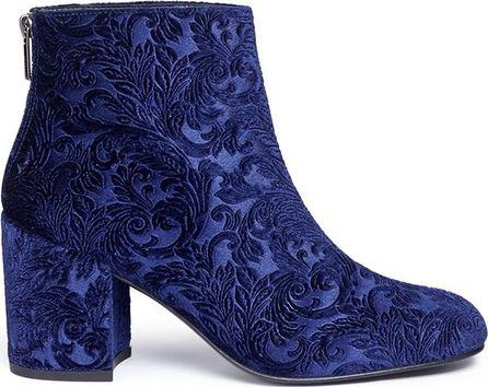 Stuart Weitzman 'Bacari' tapestry boots