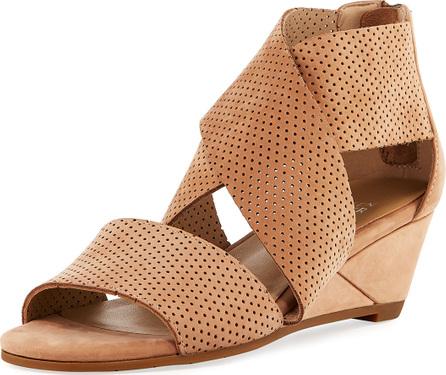 Eileen Fisher Kes 2 Perforated Wedge Sandal