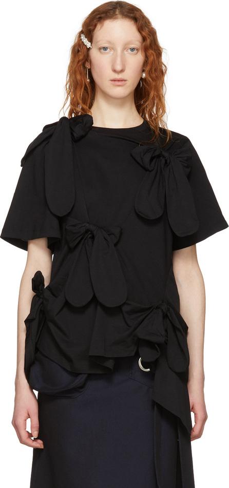 Simone Rocha Black Bows T-Shirt