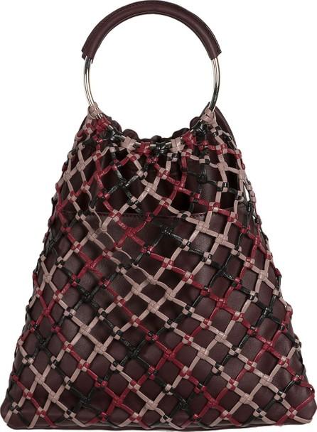 HEREU Woven Xarxa Top Handle Bag