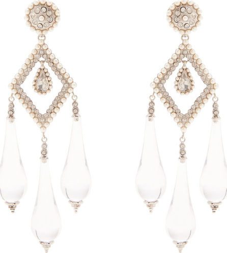 Etro Teardrop clip-on earrings