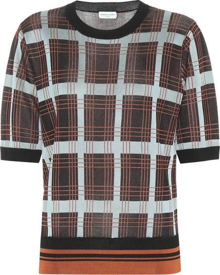 Dries Van Noten Checked sweater