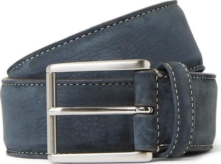 Anderson's 4cm Grey Nubuck Belt