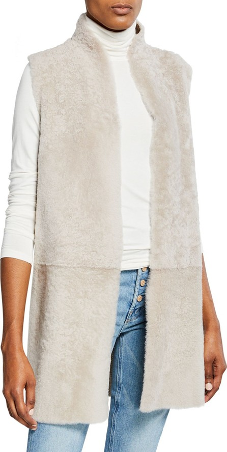 Gushlow and Cole Reversible Long Shearling Vest