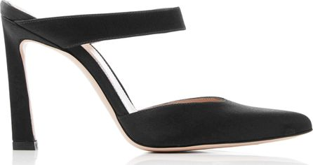 Stuart Weitzman Eventually Silk-Satin Sandals
