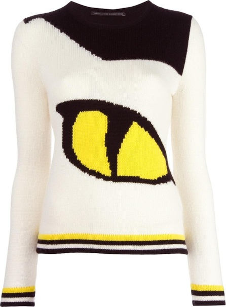 Ermanno Scervino eye intarsia knit jumper