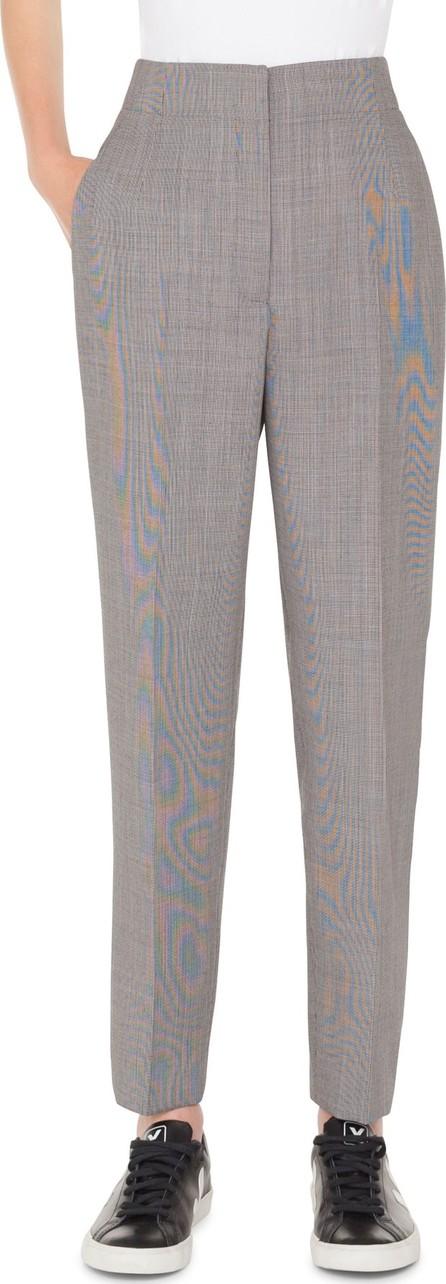 Akris Check Wool Blend Pants