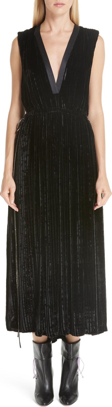 Adam Lippes Velvet Midi Dress