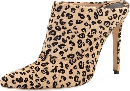 Altuzarra Davidson Fur Leopard-Print Mule