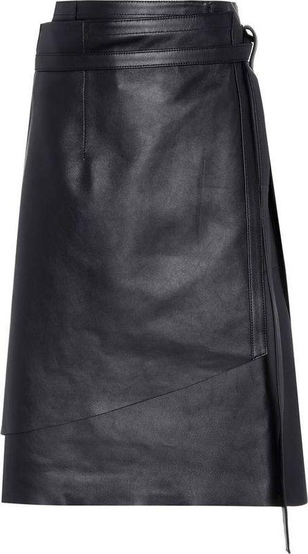 Acne Studios Lakos leather skirt