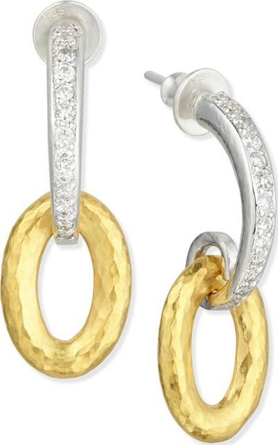 GURHAN Galahad Double-Drop Earrings