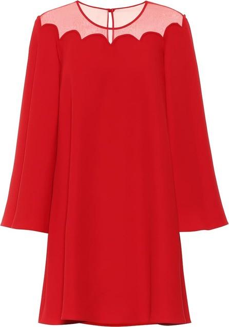 Valentino Silk-crêpe dress