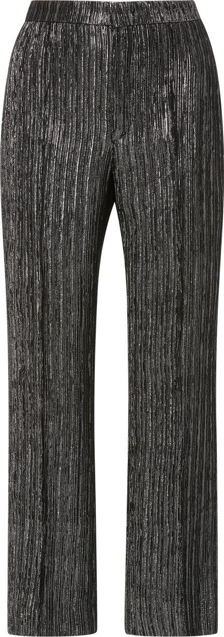 Isabel Marant Dansley Metallic Straight Leg Cropped Pants