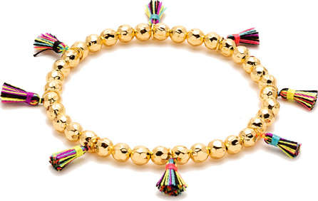 Gorjana Havana Tassel Bracelet
