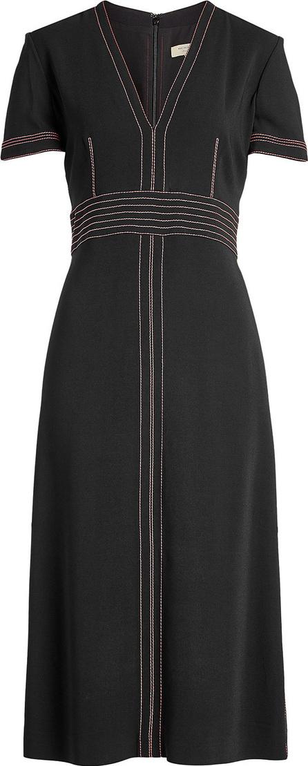 Burberry London England Benni Dress with Contrast Stitching