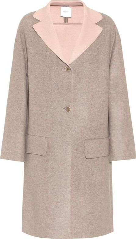 Agnona Jerfed cashmere coat