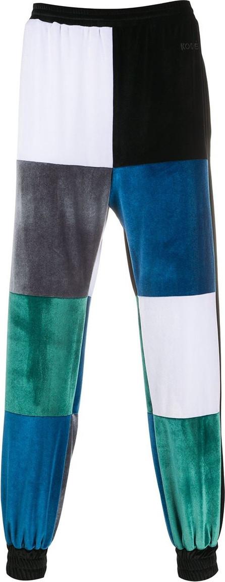 KOCHÉ Colour-block track pants