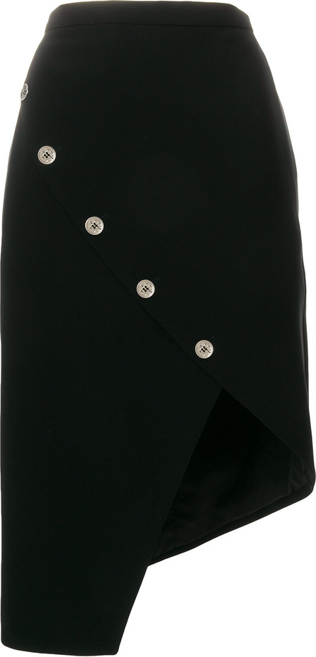 Altuzarra Button detailed asymmetric hem skirt