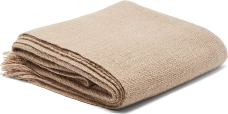Denis Colomb Himalayan hand-woven cashmere  blanket
