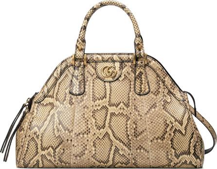Gucci Medium RE(BELLE) Genuine Python Satchel