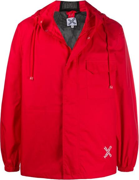 KENZO Hooded zip-up jacket