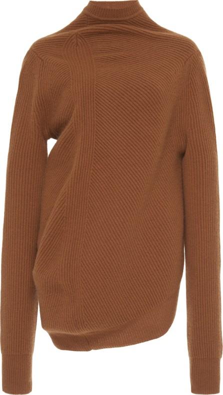Jil Sander Gathered Knit Sweater