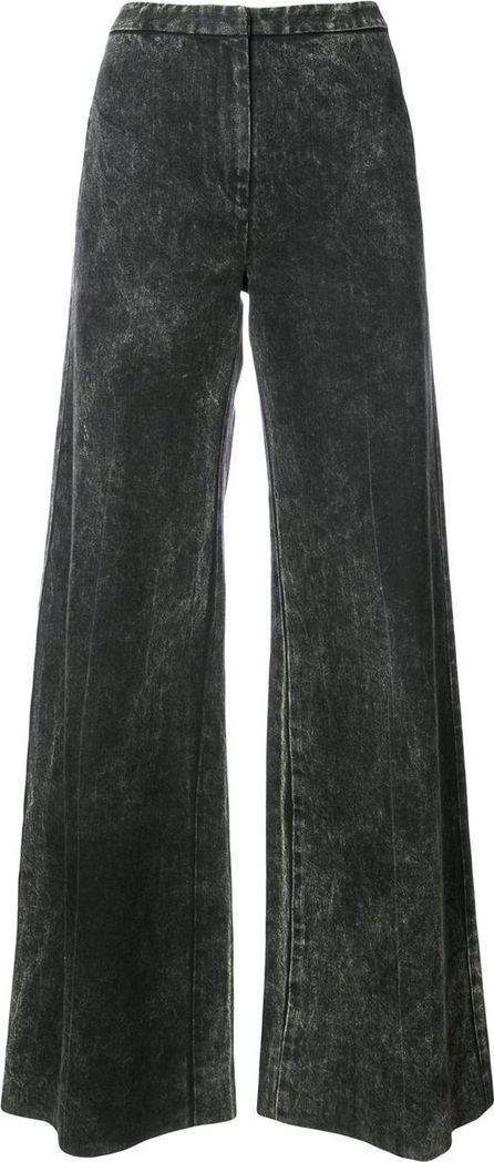 Adam Lippes acid wash palazzo jeans