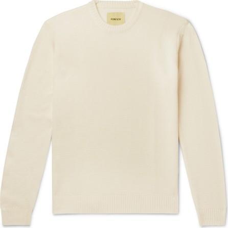 De Bonne Facture Wool-Piqué Sweater