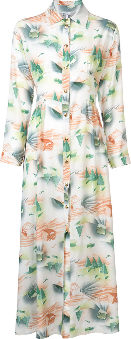 LOEWE Printed shirt dress