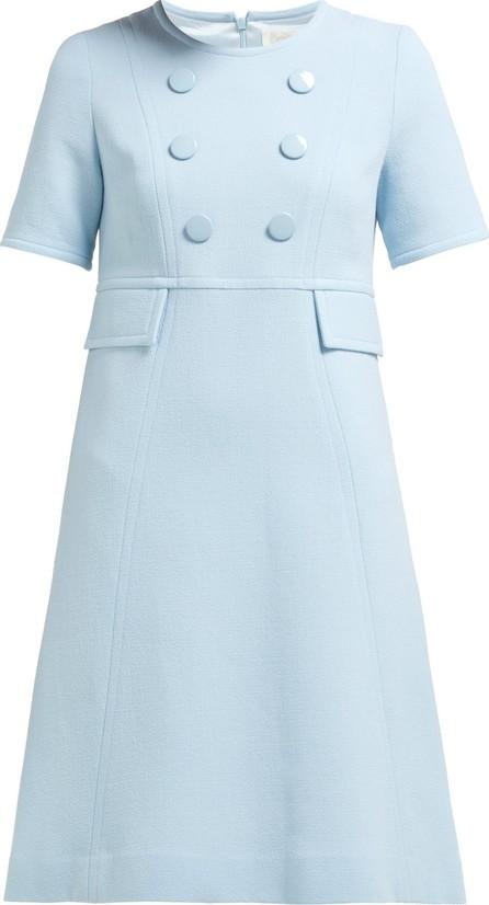Goat Brigitte wool-crepe dress